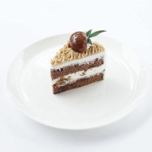 渋栗のショートケーキ